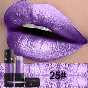 Miss Rose Metallic Lip Gloss 25