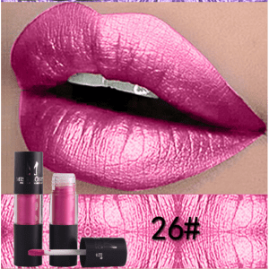 Miss Rose Metallic Lip Gloss 26