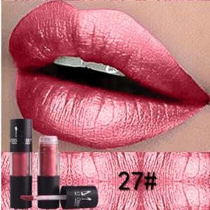 Miss Rose Metallic Lip Gloss 27