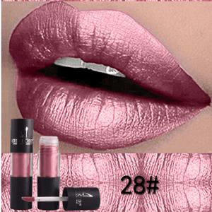 Miss Rose Metallic Lip Gloss 28