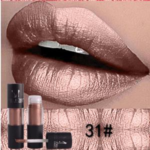 Miss Rose Metallic Lip Gloss 31
