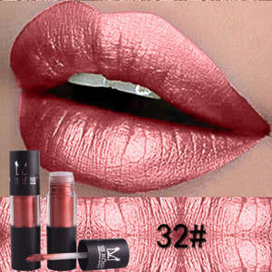 Miss Rose Metallic Lip Gloss 32