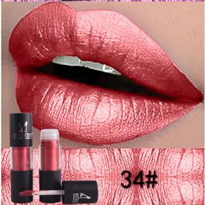 Miss Rose Metallic Lip Gloss 34