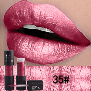Miss Rose Metallic Lip Gloss 35