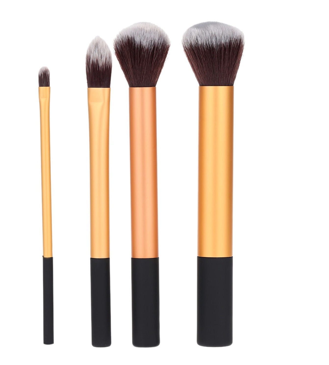 483fd4bd474ee Glowii 4pcs Essential Gold Makeup Brush Set - Colour Zone Cosmetics