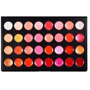 32 Colour Lip Gloss 1
