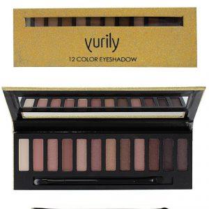 yurily 12 color eyeshadow