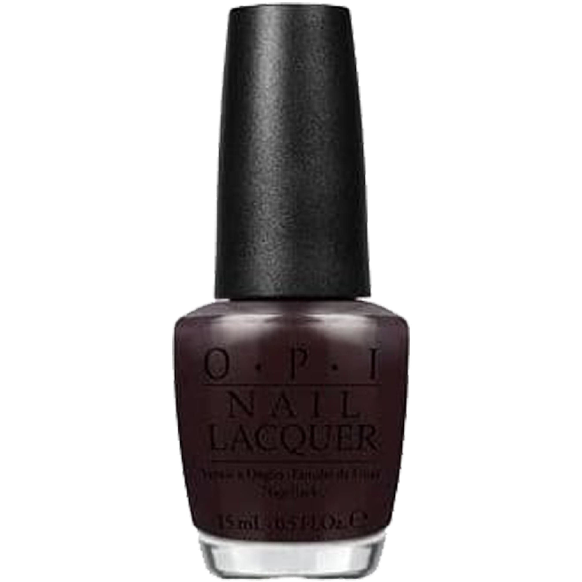 Opi Nail Lacquer Nail Polish 15ml Hr F06 Love Is Hot And Coal Colour Zone Cosmetics
