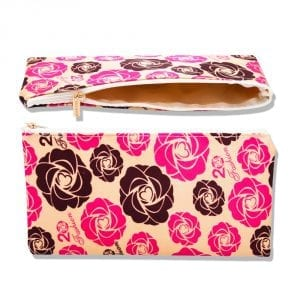 rosy makeup bag