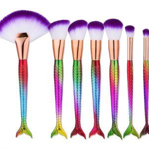 7pcs fishtail brush set