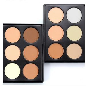 6 colours Contour Palette
