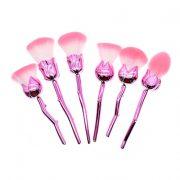 6pcs pink flower AND rose bag 1