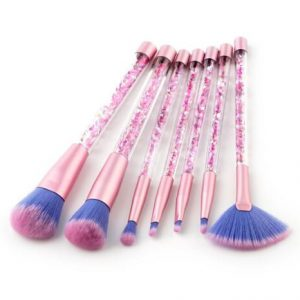 7pcs moving glitter brush