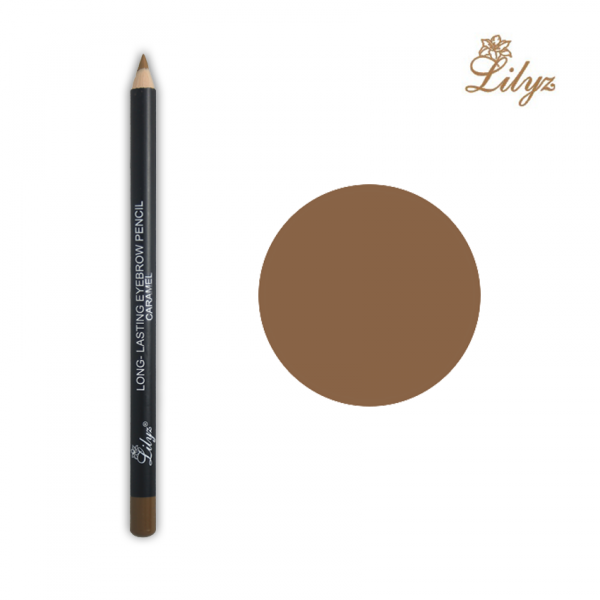 Lilyz Long-Lasting Eyebrow Pencil – Caramel