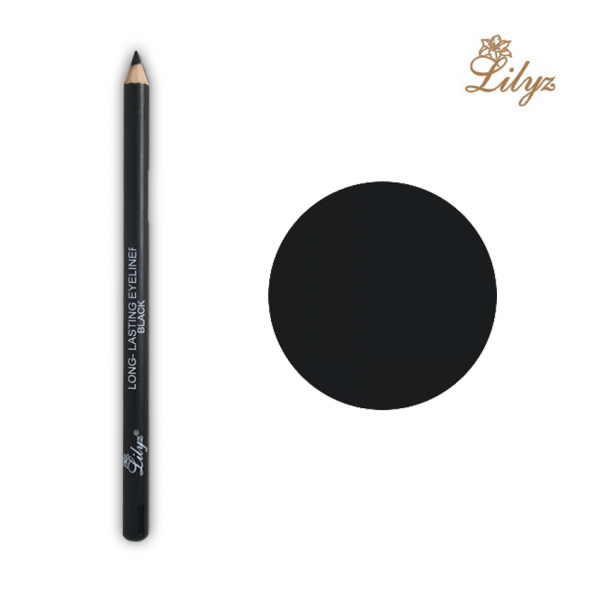 Lilyz Long-Lasting Eyeliner Pencil - Black