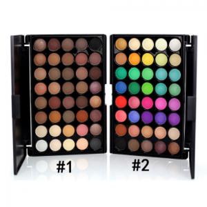 PopFeel 40 colours eyeshadow palette 1 n 2
