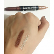 Rimmel Magnif'Eyes Double Ended Shadow-Liner 003 Queens of Tthe Bronzed Age 1