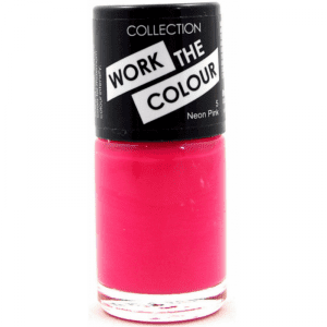 Collection Work The Colour Nail Polish 5 Neon Pink