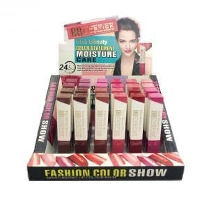 Kiss Beauty 24pcs lipsticks tray 3