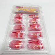 70pcs Shimmer Nail Tips 081 2
