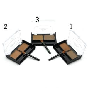 PopFeel 2 Colours Brow Powder Kit