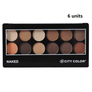 City Color Eyeshadow Naked x 6