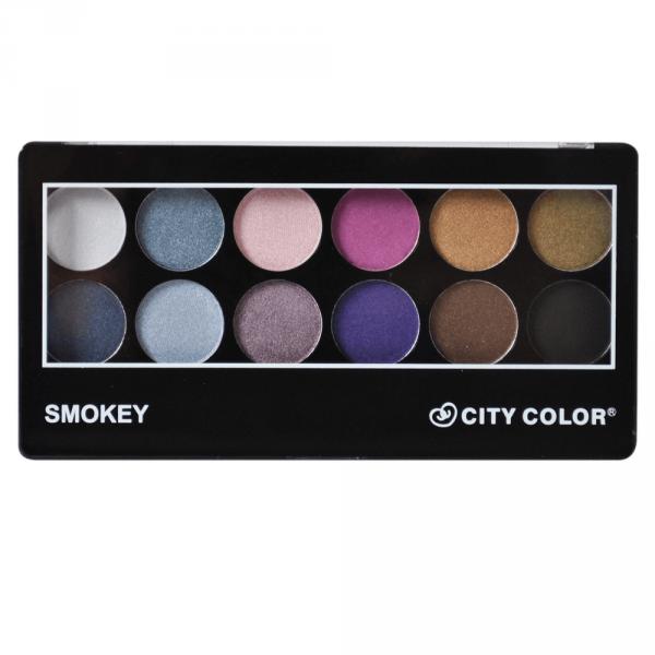 City Color Eyeshadow Smokey