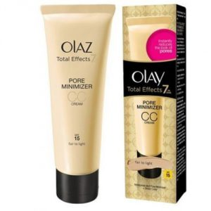 Olay Total Effects Pore Minimising Moisturiser CC Cream Fair to Light 50 ml