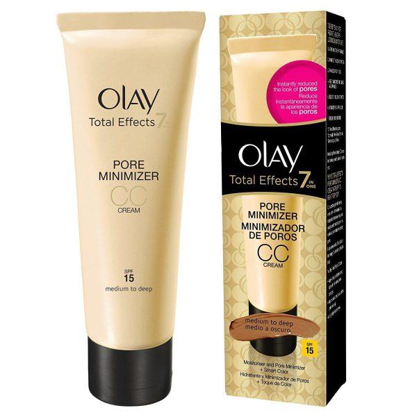 Olay Total Effects Pore Minimising Moisturiser CC Cream Medium to Deep 50 ml