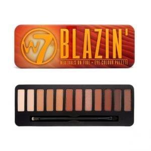 W7 Blazin' Eyeshadow Palette 6