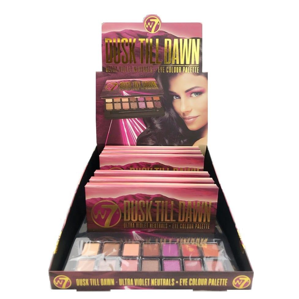 W7 Dusk Till Dawn Eyeshadow Palette - Colour Zone Cosmetics