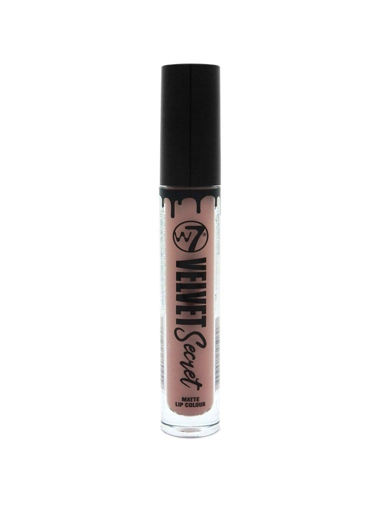 W7 Velvet Secret Nudes Matte Liquid Lipstick - Los