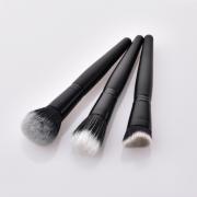 3pcs Black Makeup Brush Set 1