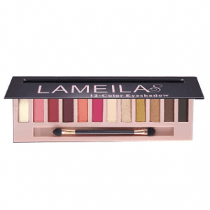 Lameila 12 Colours Eyeshadow Palette 04