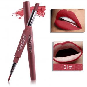 Miss Rose 2 in 1 Lipstick Lipliner 01