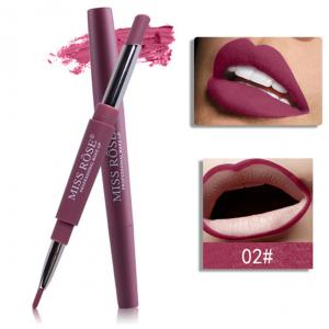 Miss Rose 2 in 1 Lipstick Lipliner 02