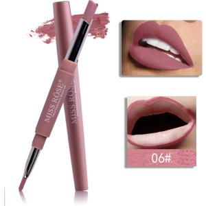 Miss Rose 2 in 1 Lipstick Lipliner 06