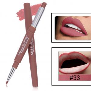 Miss Rose 2 in 1 Lipstick Lipliner 33