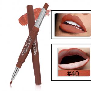 Miss Rose 2 in 1 Lipstick Lipliner 40
