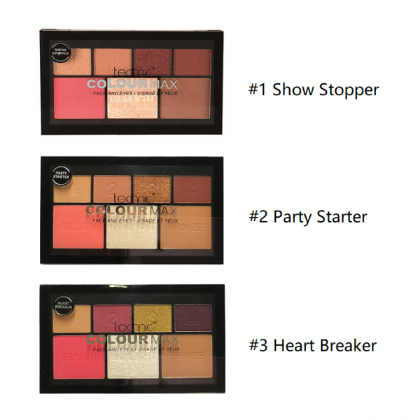 TECHNIC Face and Eye Palette 3pcs
