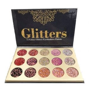 Glamierre 15 Colours Glitter Eyeshadow 3