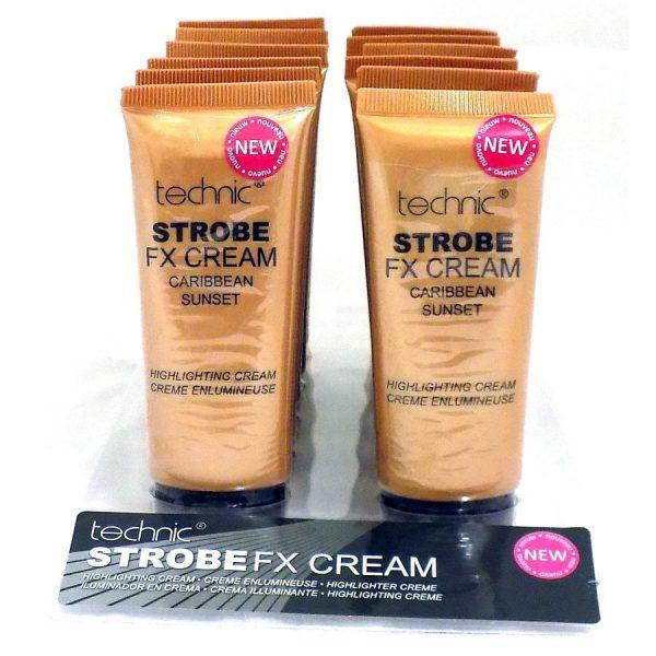 Techic Strobe FX Highlighting Cream - Caribbean Sunset TRAY