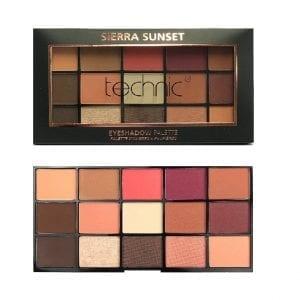 Technic 15 Colours Eyeshadow - Sierra Sunset 4