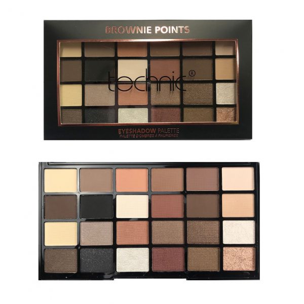 Technic 24 Eyeshadow - Brownie Points 4