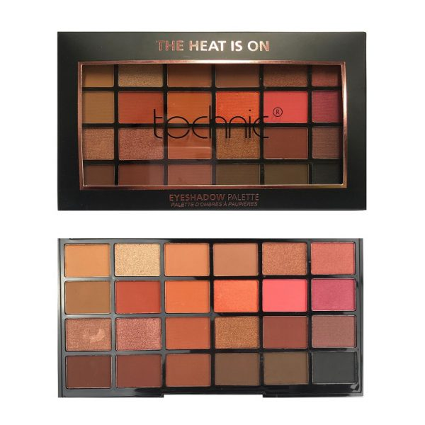 Technic 24 Eyeshadow - The Heat Is On 4