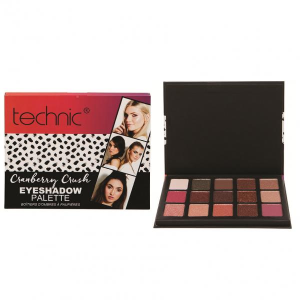 Technic Cranberry Crush Eeyshadow Palette 2
