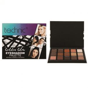 Technic Golden Glow Eyeshadow Palette 2
