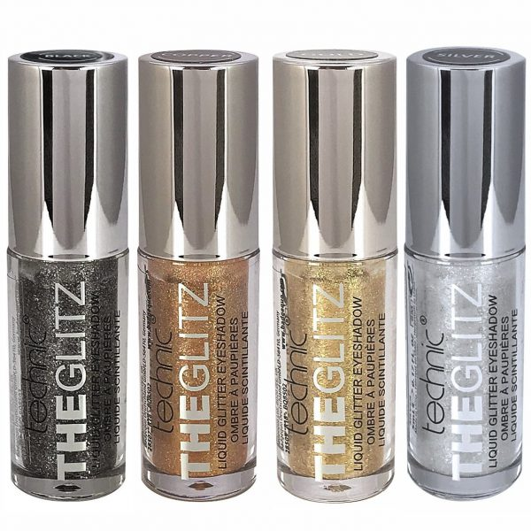 Technic The Glitz Liquid Glitter Eyeshadow 4pcs