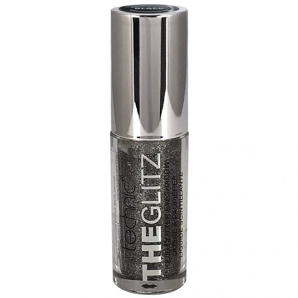 Technic The Glitz Liquid Glitter Eyeshadow - Black