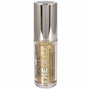 Technic The Glitz Liquid Glitter Eyeshadow - Gold